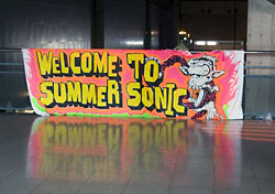 WELCOME TO SUMMER SONIC