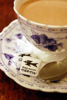 食後にはコーヒーで一休み・・・