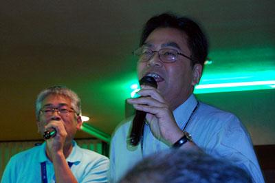 加藤先生とコーチャン