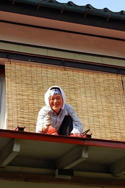 節子ママはせつなそうな笑顔