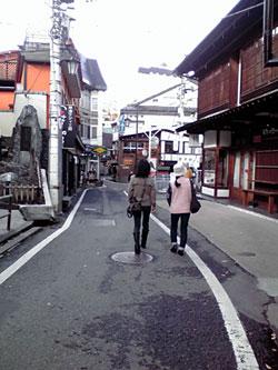 草津の街を散策