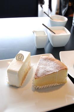 チーズケーキ2種