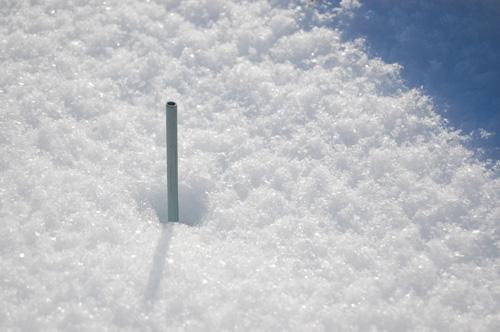 ふわふわできらきらの雪