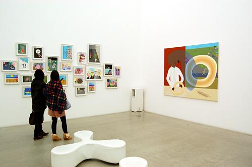 ピーター・マクドナルドの「訪問者展」