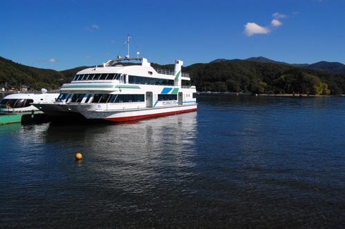 野尻湖一周遊覧船