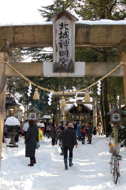町の外れにある神社
