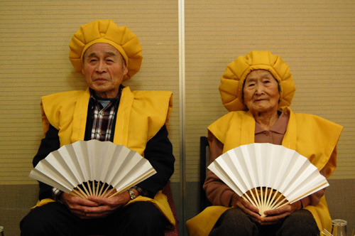 黄色い頭巾とちゃんちゃんこ