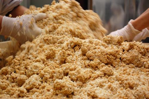 米麹と大豆
