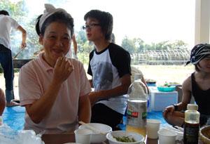 枝豆大好きな節子ママ
