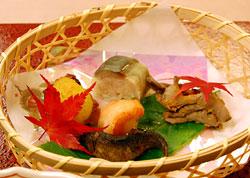 前菜「山海の珍味」